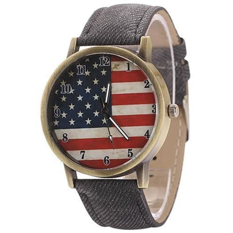 The American Pride Watch Black