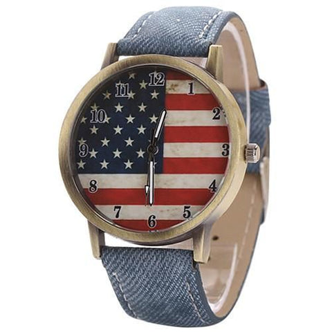 The American Pride Watch Blue