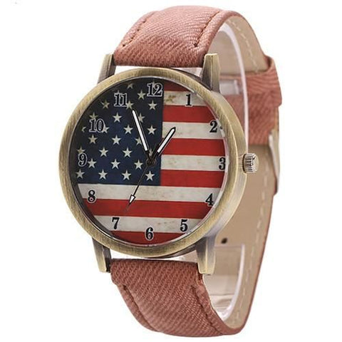 The American Pride Watch Brown