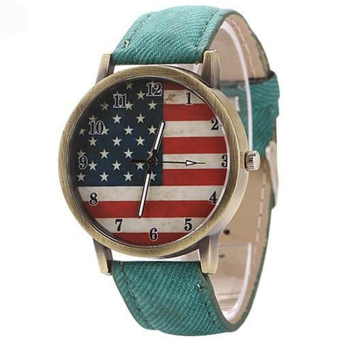 The American Pride Watch Green