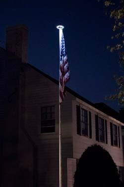 Solar Led Orbital Light American Made Flagpole Best Flag Pole Lighting Light Solar Lights