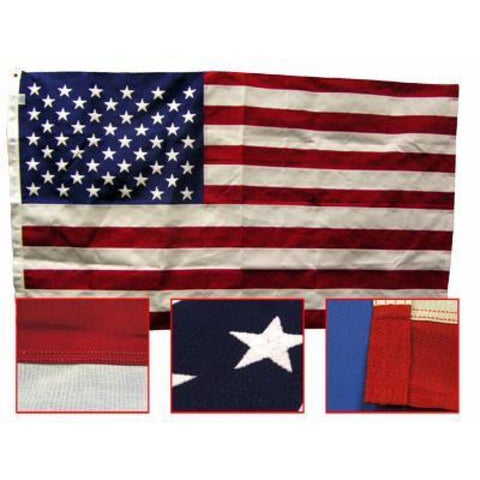 Nylon Large American Flag American Flag Made Flags Huge Large Amaerican
