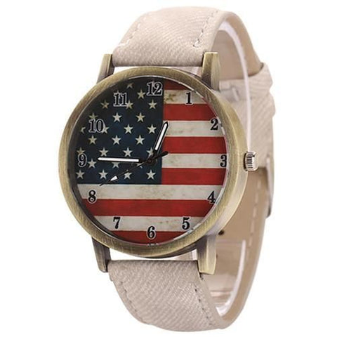 The American Pride Watch White