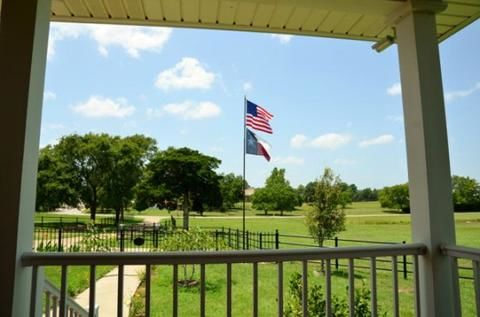 review of flagpole from a texas porch