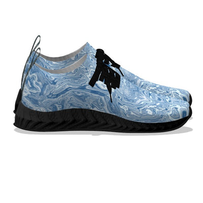 Blue Water Stone - Black Soles