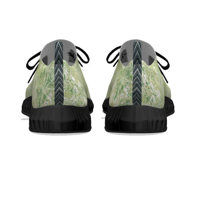 Green Foliage - Black Soles
