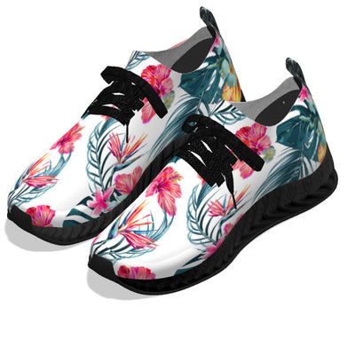 Hawaii Floral - Black Soles