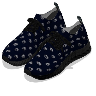 Koi Fish Dark - Black Soles