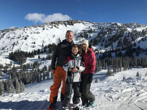 Family fun day at Alta Ski Area