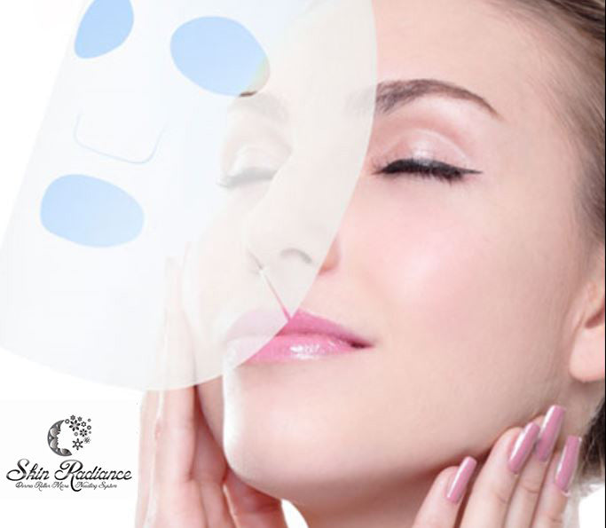 Skin Radiance™ Hyaluronic Acid Face Masks (10 Masks)