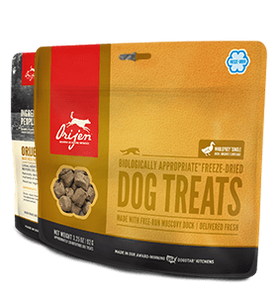Champion Petfoods Treats Orijen Freeze Dried Duck Dog Treats 3.25oz