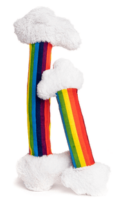 FabDog Toy FabDog Bendies Rainbow