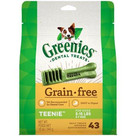 Greenies Dental Greenies Grain-Free Teenie Dog Dental Chew