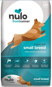 Nulo Dry Dog Food Nulo Frontrunner Small Breed with Ancient Grains