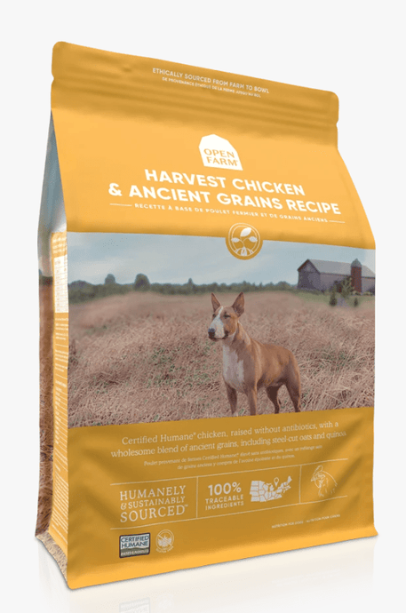 Open Farm Dry Dog Food Open Farm Harvest Chicken & Ancient Grains Dry Dog Food