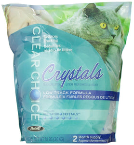 Pestell Cat Litter Clear Choice Silica Litter - 8 Pound