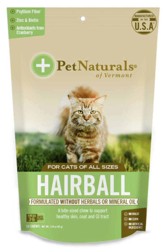 Pet Naturals of Vermont Supplements Pet Naturals of Vermont Hairball for Cats