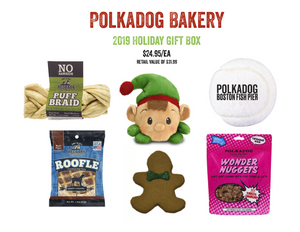 Polkadog Bakery Holiday Holiday Gift Box for Dogs
