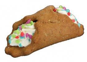 Preppy Puppy Bakery Birthday Funnoli Cannoli Dog Treat