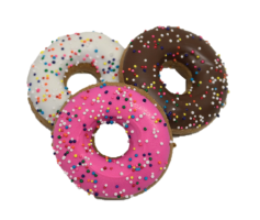 Mini Frosted Donut Cookie 3 Pack