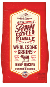 Stella & Chewy's Dry Dog Food Stella & Chewy's Raw Coated Wholesome Grains Beef Recipe