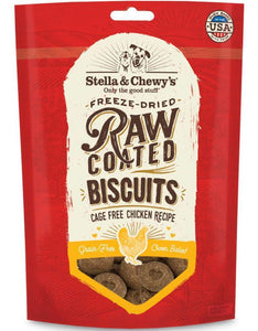 Stella & Chewy's Treats Stella & Chewy's Raw Coated Chicken Biscuits