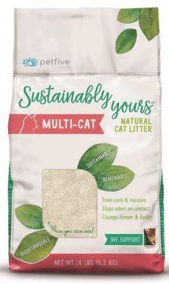 Sustainably Yours Cat Litter 13 lb Sustainably Yours Multi-Cat Litter