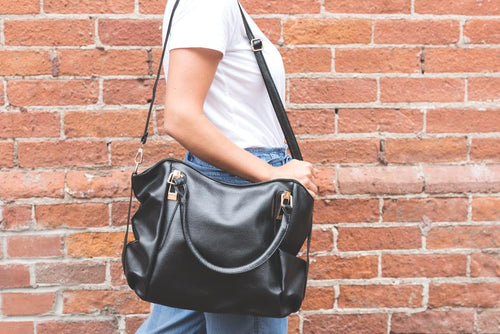 Black Leather Bag - Progressive Web App