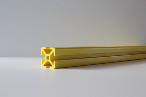 safety yellow tslot extrusion