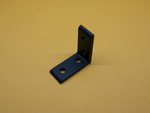 (CB-010-D BLACK) 10 SERIES 4 HOLE INSIDE CORNER BRACKET