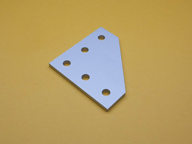 (JP-010-H) 10 SERIES 5 HOLE 90° JOINING PLATE