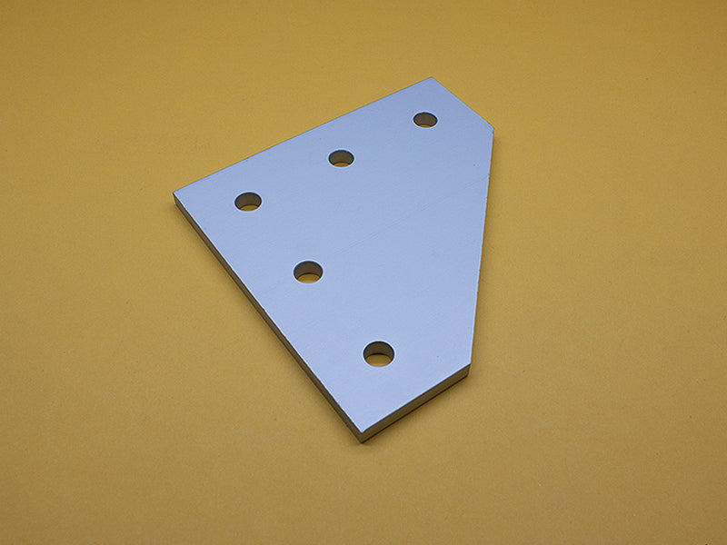 (JP-015-H) 15 SERIES 5 HOLE 90° JOINING PLATE