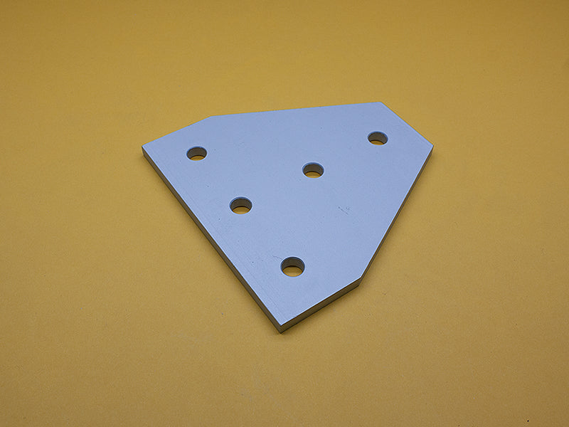 (JP-015-J) 15 SERIES 5 HOLE TEE JOINING PLATE