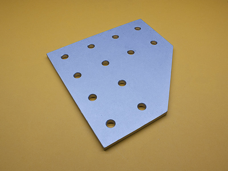 (JP-015-M) 15 SERIES 12 HOLE 90° JOINING PLATE