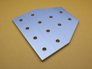 (JP-015-N) 15 SERIES 12 HOLE TEE JOINING PLATE