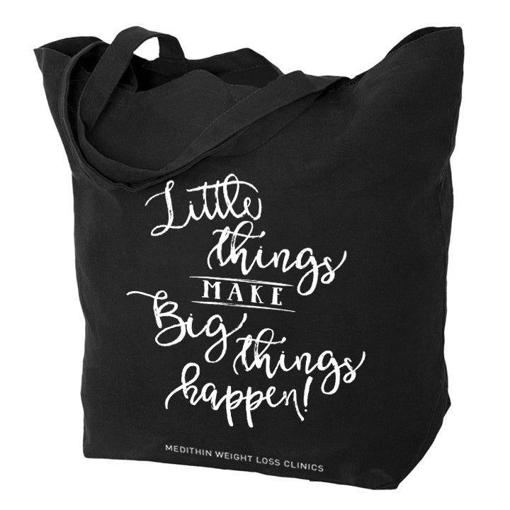 Little Things Big Things Tote Bag