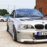 BMW E46 M3 and Non-M Side Skirt Extensions