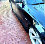 BMW E60 Side Skirt Extensions