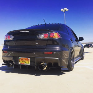 MITSUBISHI Evolution X Rear Diffuser
