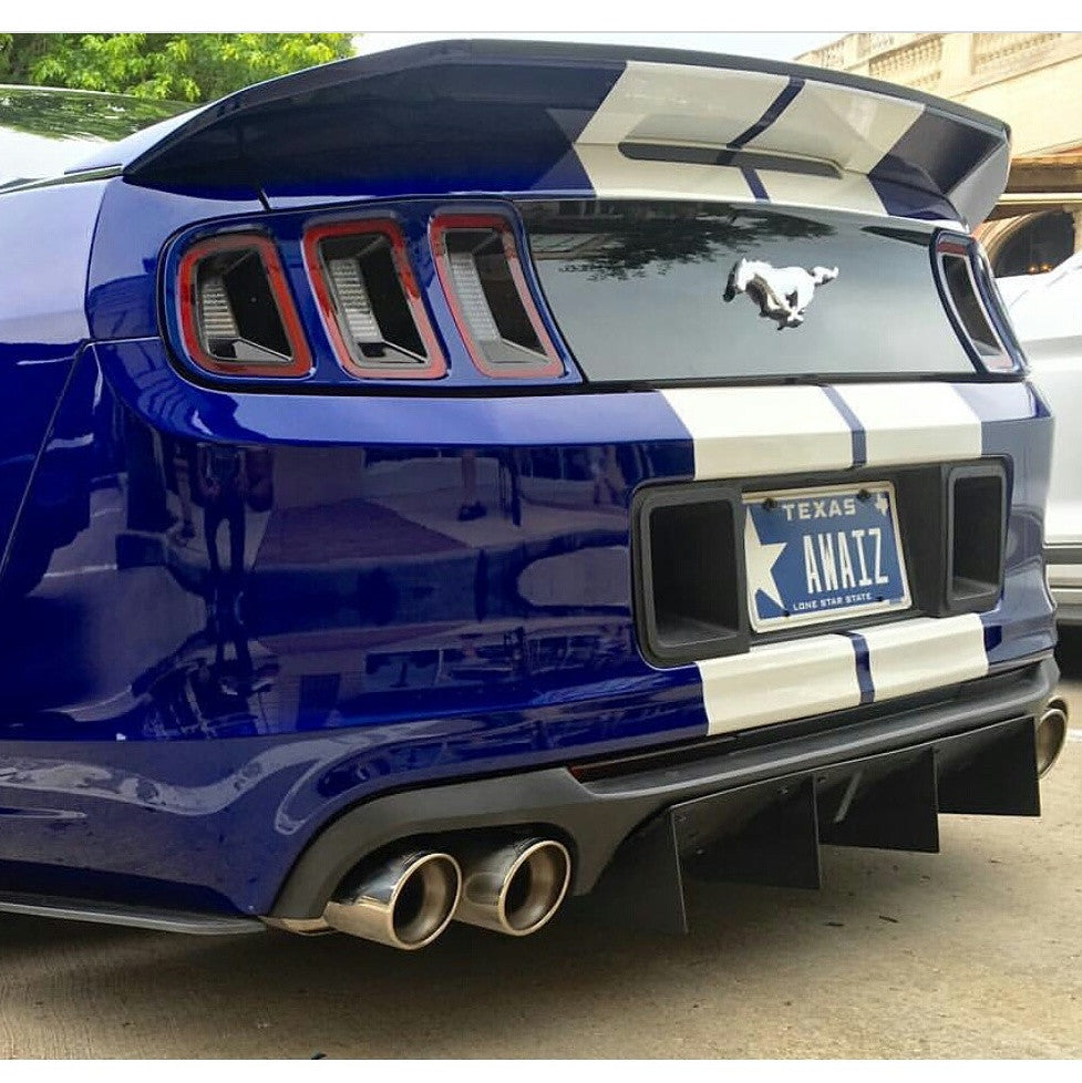 Ford Mustang Rear Diffuser 2010 2014 Gt500 Diffusersandmore
