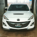 Mazda Speed 3 Front Splitter (Second Gen 2010-2013)