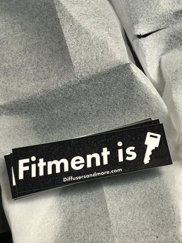 D&M Fitment is KEY Sticker
