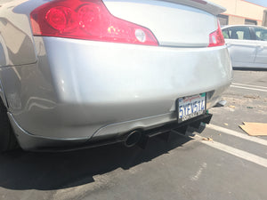 INFINITI G35 Coupe Rear Diffuser