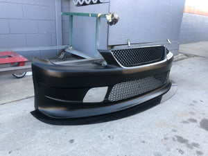 Lexus IS300 Vertex Front Splitter
