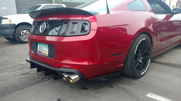 FORD Mustang Rear OUTER FINS 2010-2014