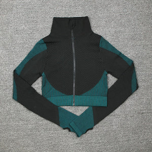 Women 2 Piece Zippers Tracksuit