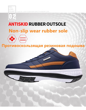 Men Breathable Lace up Sneakers for Men Shoes