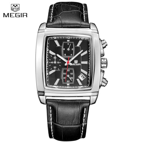 Men Casual Military Watches Chronograph Quartz Waterproof Watch