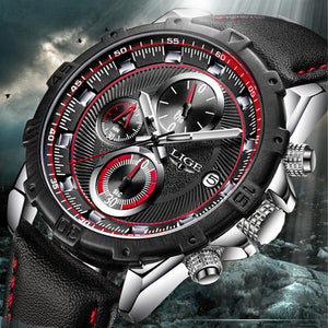 Men Chronograph  Waterproof Stopwatch