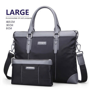 Nylon Men Bag Business Briefcase